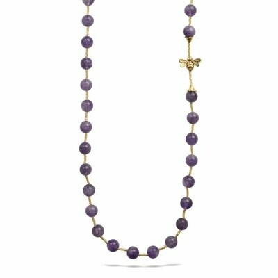 POM Candace Necklace in Amethyst