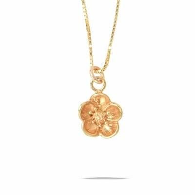POM Linnea Gold Flower Necklace