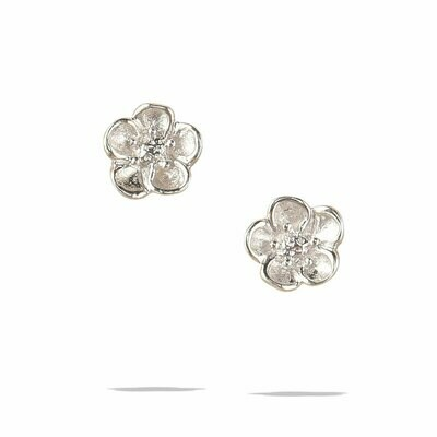 POM Helene Earrings in Silver
