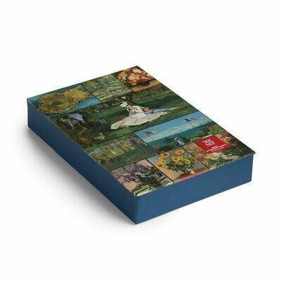 BI French Impressionist Gardens Notecards
