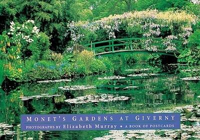 PO Monet Garden Ptcard