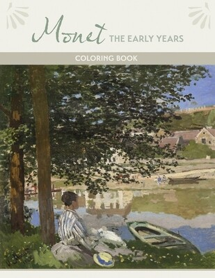PO Monet the Early Years Coloring Book