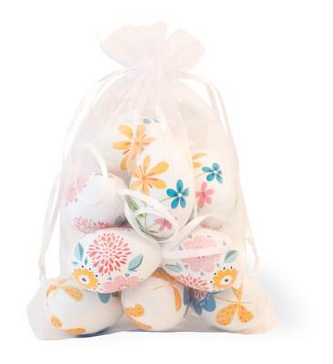 BI Folk Flowers Bagged Eggs