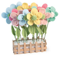BI Felt Flowers