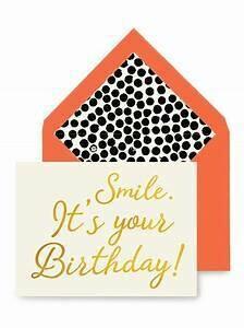 BG Smile. It's Your Birthday Greeting Card
