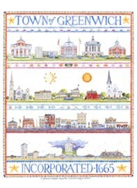 OH Town of Greenwich Sampler Boxed Note Cards