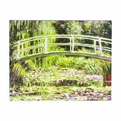CB Monet: Water Lily Garden, Keepsake Boxed Note Cards