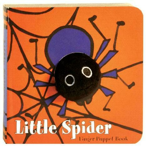 CB Little Spider: Finger Puppet Book
