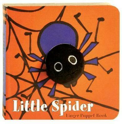 CB Little Spider: Finger Puppet Book