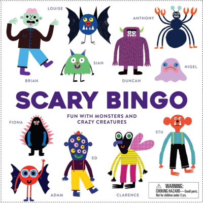 CB Scary Bingo Fun with Monsters and Crazy Creatures