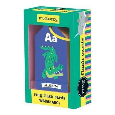 CB Wildlife ABCs Ring Flash Cards