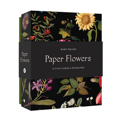 CB Paper Flowers Cards and Envelopes