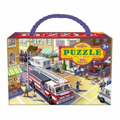 EB Fire Truck 20 Piece Puzzle