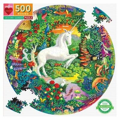 EB Unicorn Garden Puzzle 500 Pc
