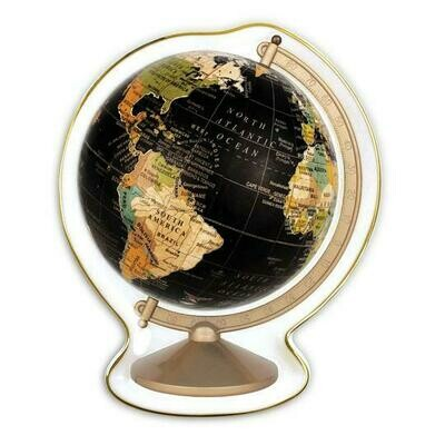 CB Vintage Globe Shaped Medium Porcelain Tray