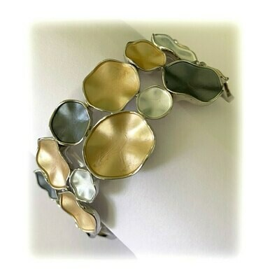 OR Gold Combi Stretch Bracelet
