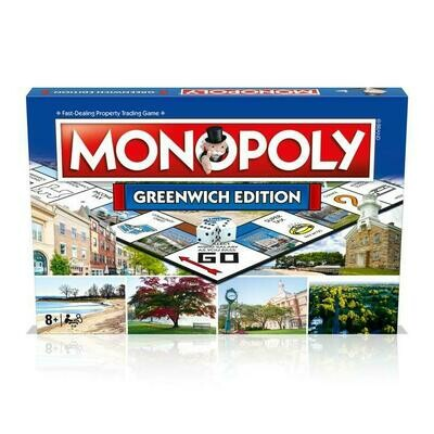 TOP Greenwich Monopoly Board Game