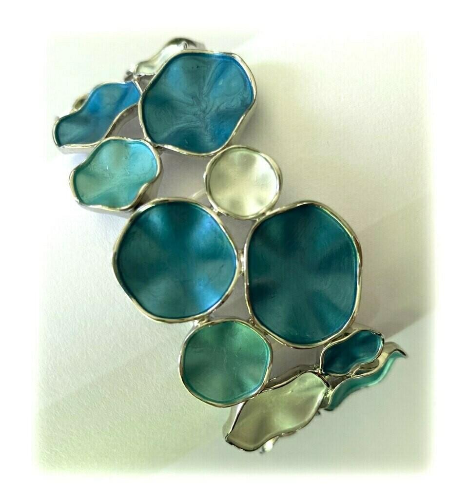 OR Blue Combi Stretch Bracelet