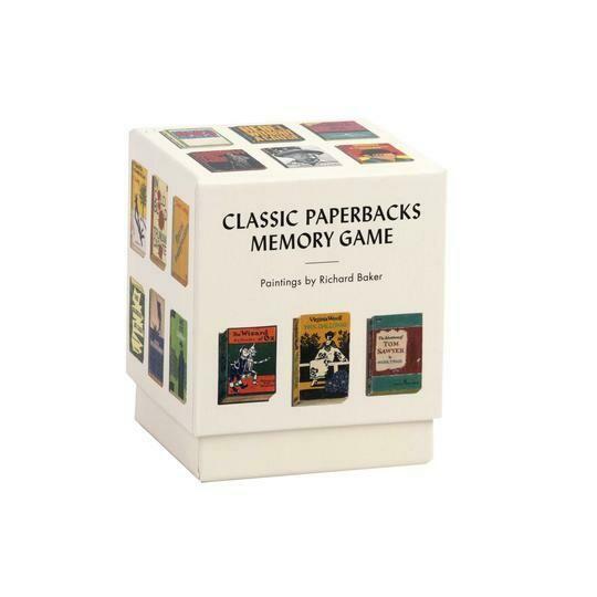 CB Classic Paperbacks Memory Game
