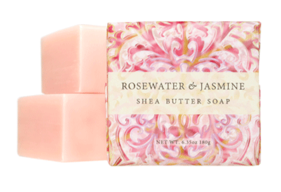 GB 6 oz. Shea Butter Soap Rosewater & Jasmine