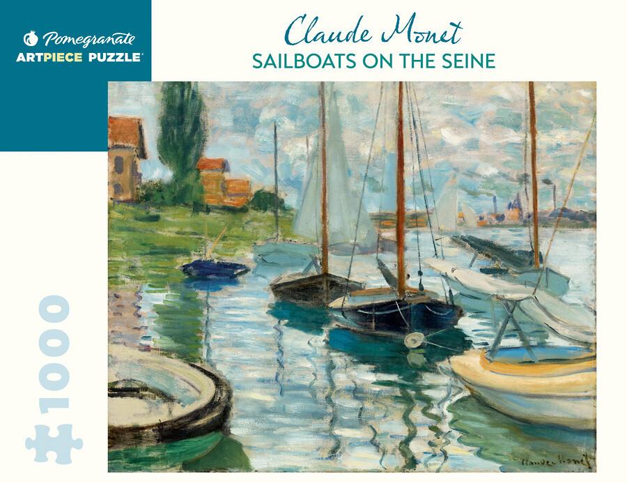 PO Monet: Sailboats on the Seine Puzzle