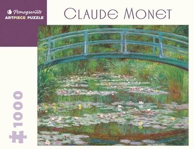 PO Monet Japanese Footbridge 1,000 Piece Puzzle