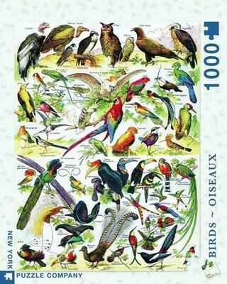 NP Birds - Oiseaux 1,000 PC Puzzle