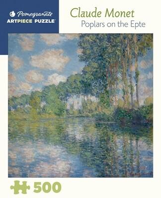 PO Monet: Poplars on the Epte 500 PC Puzzle