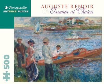 PO Renoir: Oarsmen at Chatou 500 PC Puzzle