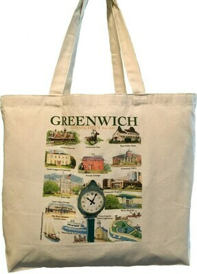 LIZ Town of Greenwich Tote Bag (Small)