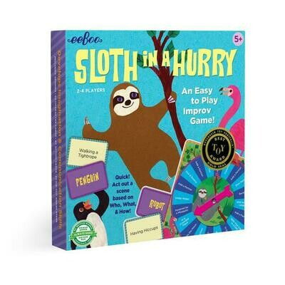 EB Sloth in a Hurry Action Game