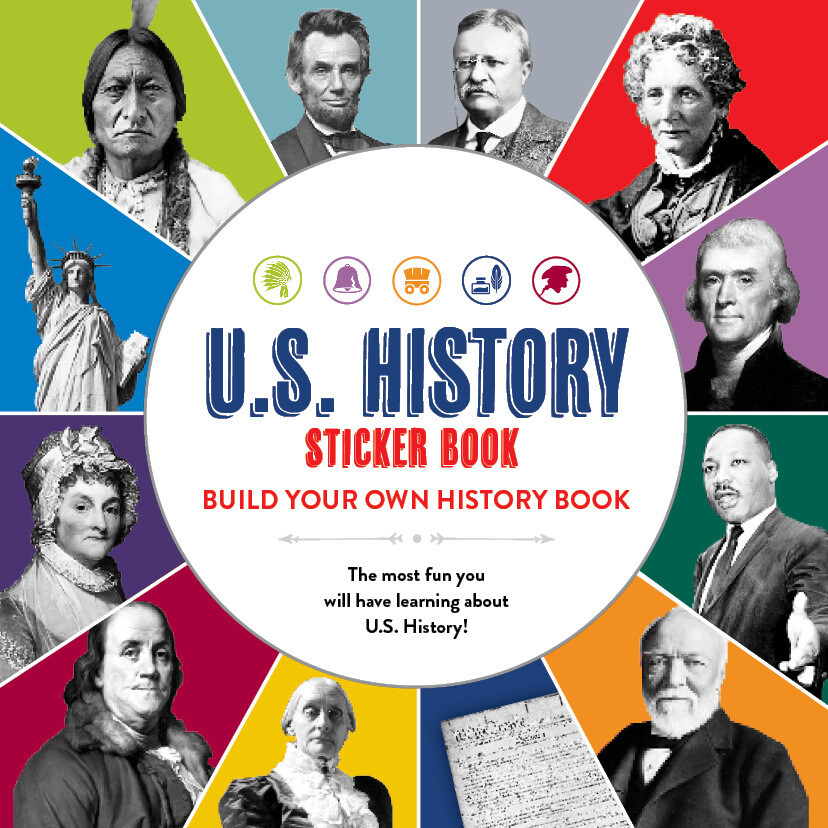 SB U.S. History Sticker Book