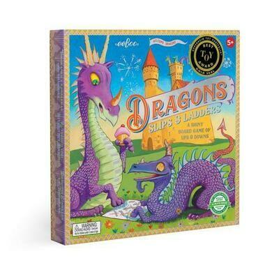 EB Dragon Slips & Ladders Board Game