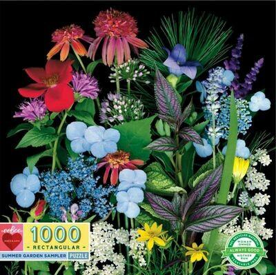 EB Summer Garden Sampler 1000 PC Puzzle
