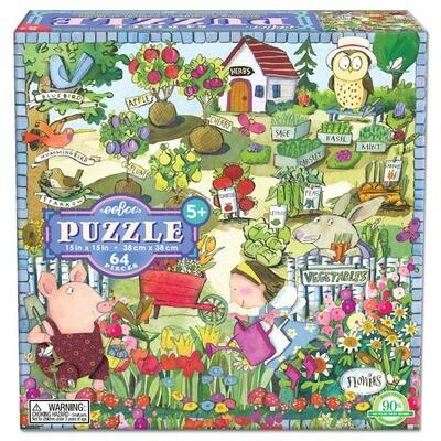 EB Growing a Garden 64 PC Puzzle