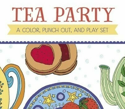 PO Tea Party Color Book