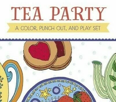 PO Tea Party Color Book