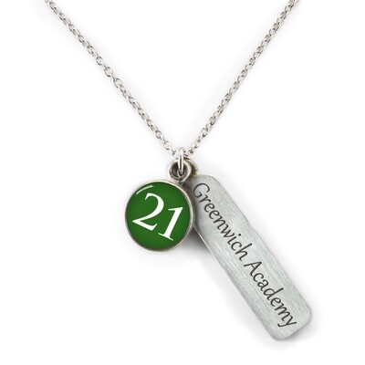 CM Greenwich Academy 2021 Necklace