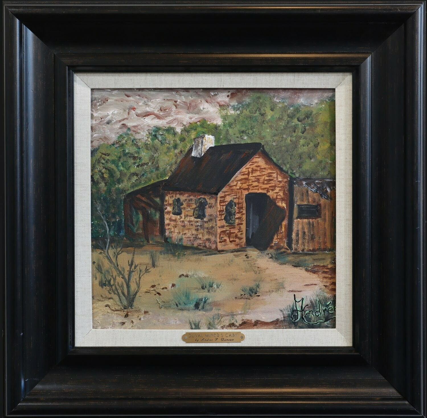 """Duval's Miner's Cabin"" Andree Duncan"
