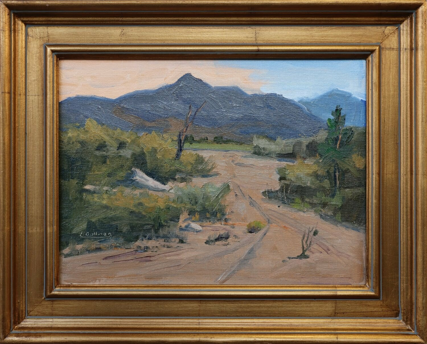 """View of Hualapai Mtn"" Ernie Dollman"
