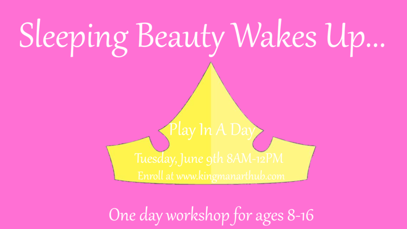 Sleeping Beauty Wakes Up- Play in a Day