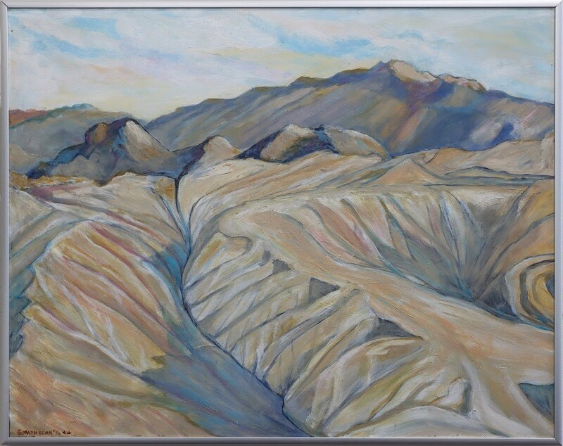 """Mohave Mud Hills"" by Sharon Matheson"