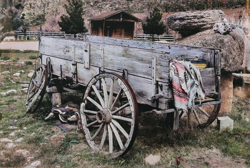 """""""Old Wagon"""" by Katie Kintner"""