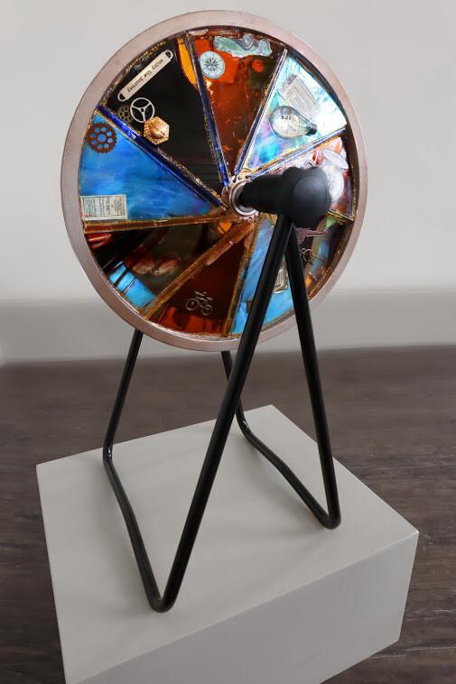 """Wheel of Motion"" by Karen Lopez"