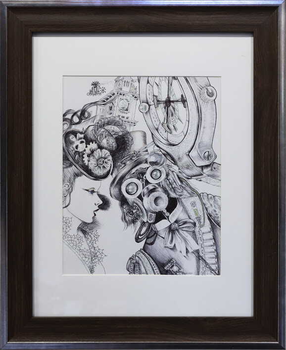 """Steam Punk Couple"" by Gail Glasier"