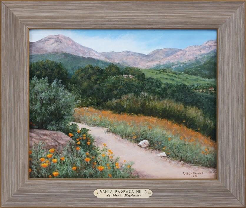 """Santa Barbara Hills"" by Doris Lightwine"