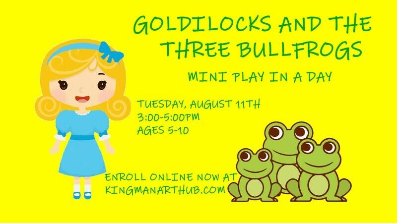 Goldilocks and the Three Bullfrogs