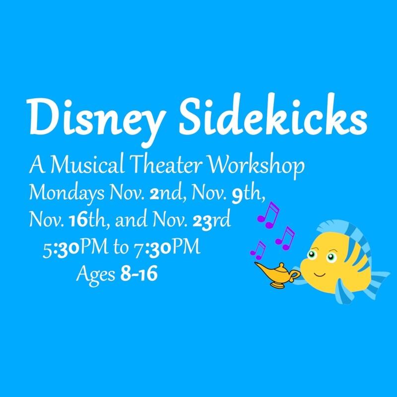 Disney Sidekicks ~ A Musical Theater Workshop
