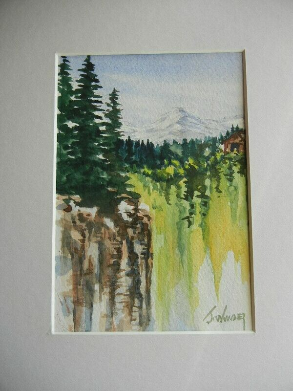 Watercolor Guided Painting November 5th