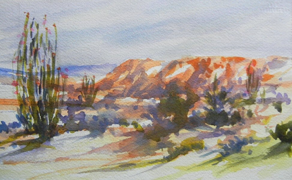 Watercolor Guided Painting November 12th